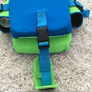 Speedo Accessories - NWOT! SPEEDO Life Vest In Blue And Green- Size 2-5